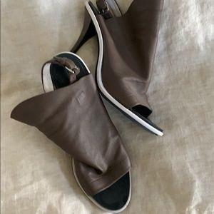 Well worn Balenciaga shoes